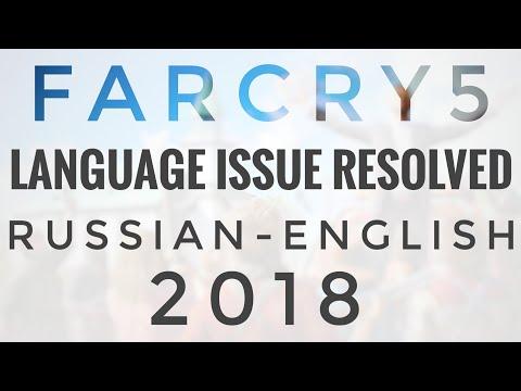 FarCry5 Repack Russian-English Change Language 2018