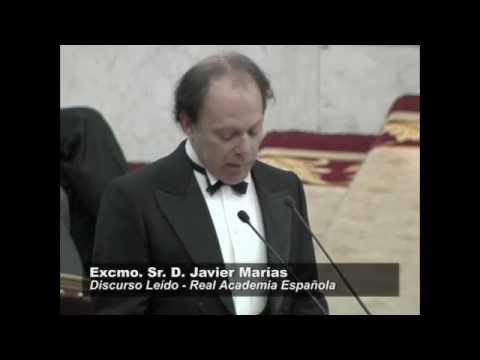 Discurso de ingreso en la RAE de Javier Marías