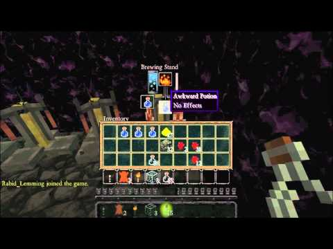 Minecraft Tutorial Tränke [Potion of Strength/Potion of ... |Strenght Potion