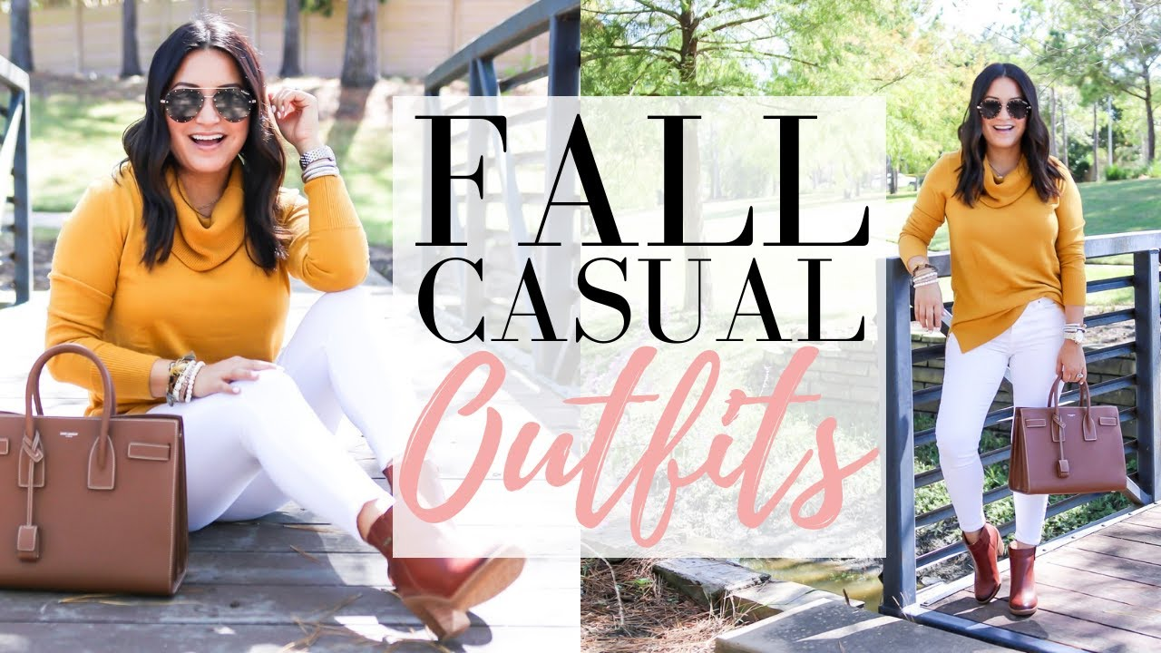[VIDEO] - FALL OUTFITS - Cute Comfy Fall Outfit Ideas | LuxMommy 3