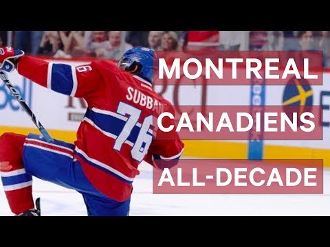 Who Makes The Montreal Canadiens All-Decade Team?