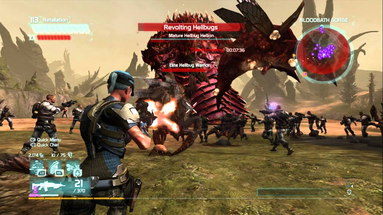 Role Playing Games For Xbox 360 : Defiance this is what i call a mmo game xbox youtube