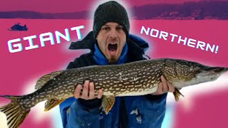 new year fishing our home lake