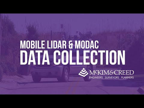 Mobile Lidar and MoDaC Mobile Data Collection