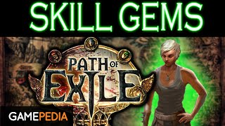 Skill Gem Official Path Of Exile Wiki When you link an active skill gem with a support gem, the mana cost of the skill gets multiplied by the multiplier on the support gem. skill gem official path of exile wiki