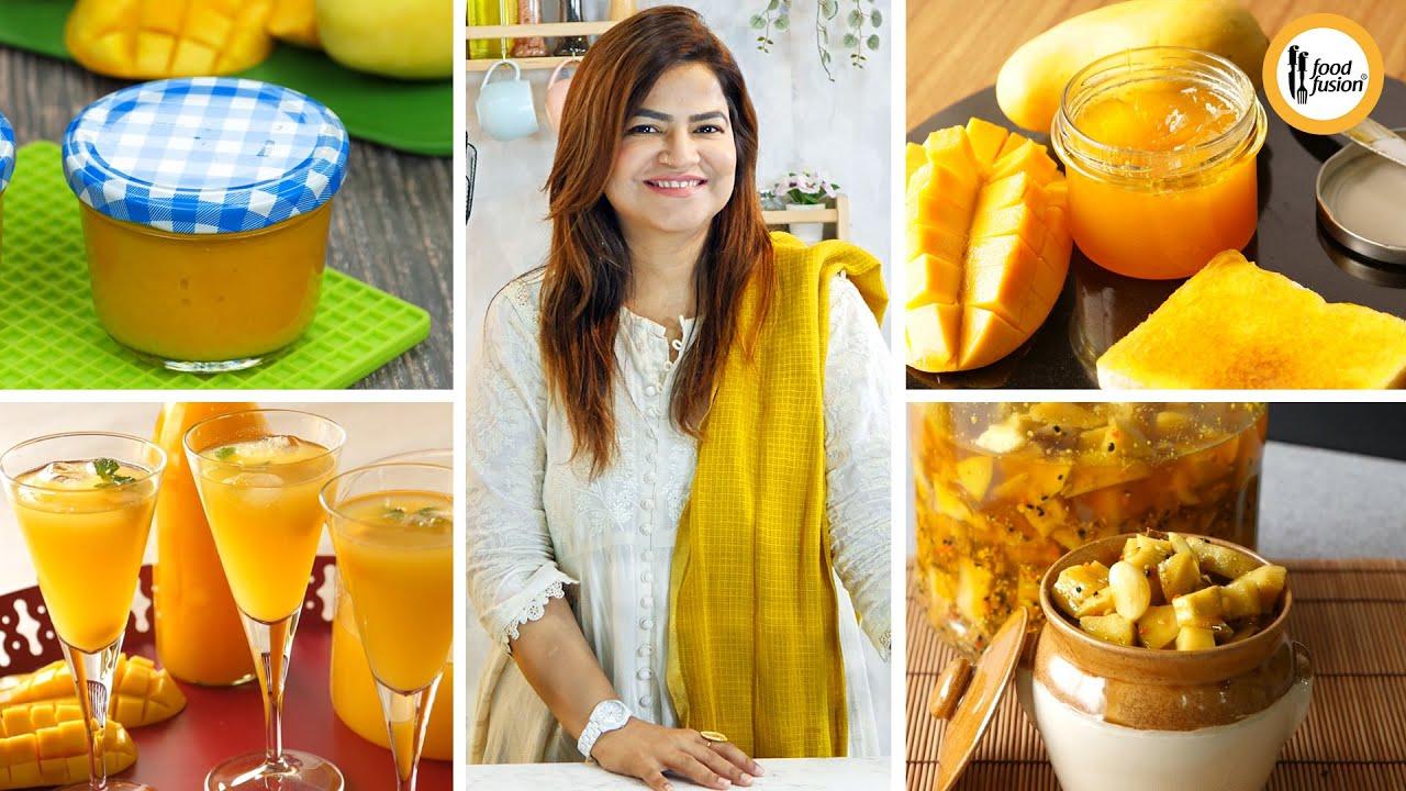 Make & Store Mango Recipes - Mango Week at Food Fusion