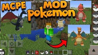 Como instalar o Mod Pokemon no Minecraft 1.2! Mod do Pokemon para Minecraft PE 1.2!
