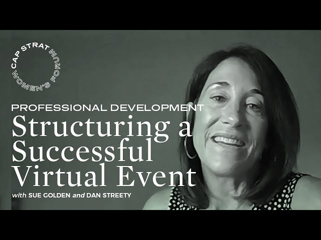 Structuring a Successful Virtual Event