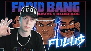 FARID BANG feat. MUSIYE & BLUEFACE // FULU$ // [official Video] prod. by Juh-Dee REACTION/ANALYSE