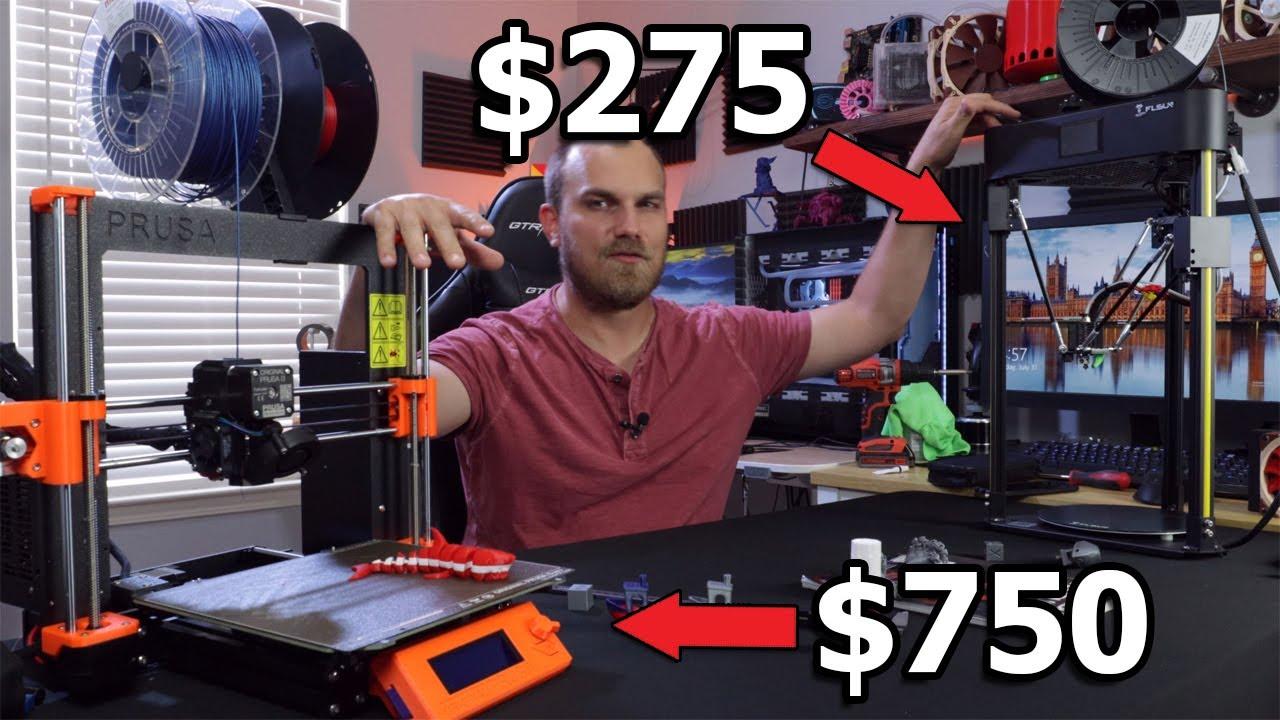 $750 vs $275 FDM Printers, Did I Waste $750 Purchasing A Prusa.