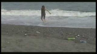 The boys (minus Ruka) play around on the beach. A short clip from t...