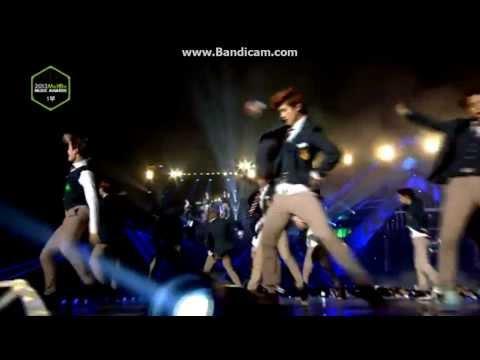 EXO - Growl (으르렁) LIVE @ Melon Music Awards 2013 YouTube