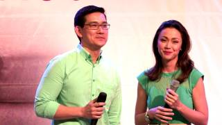 Jodi & Richard sings 'Be Careful With My Heart' at the Grand Finale Mall Show
