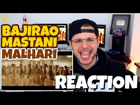 Malhari - Bajirao Mastani | Ranveer Singh | REACTION