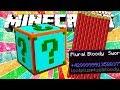 ¡EL LUCKY BLOCK MÁS CHETADO DE MINECRAFT! 😱 NUEVO MINIJUEGO MINECRAFT
