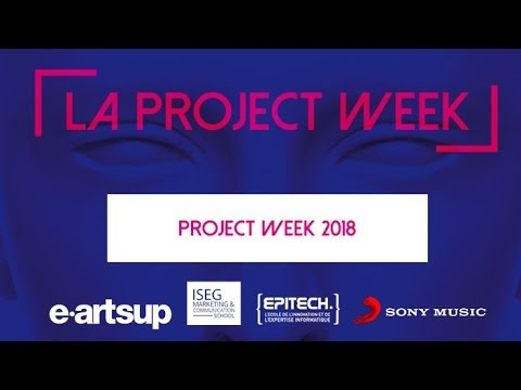 Project Week 2018 avec Sony Music France - ISEG - eartsup - Epitech