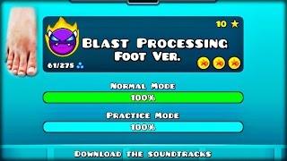 figcaption [#7] 'BLAST PROCESSING' COMPLETE! (Foot Ver.) - Dorami | Footmetry Dash [2.1]
