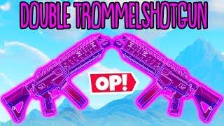 DOUBLE TROMMELSCHROTFLINTEN *TRICK* in Fortnite! 18 Kills mit neuer Waffe