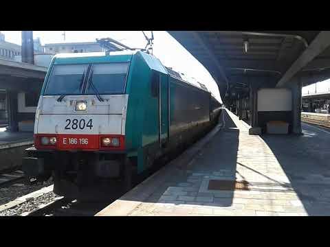 Trains at: Bruxelles-Midi, 24/03/18 Part 1/2