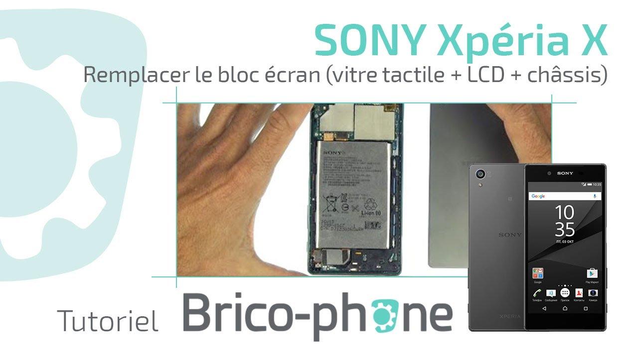 Tutoriel Sony Xperia X Remplacer Le Bloc écran Vitre Tactile