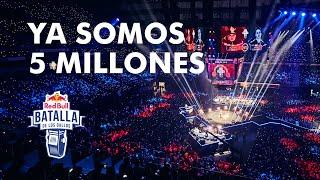 Somos 5 MILLONES en Youtube | Red Bull Batalla de los Gallos