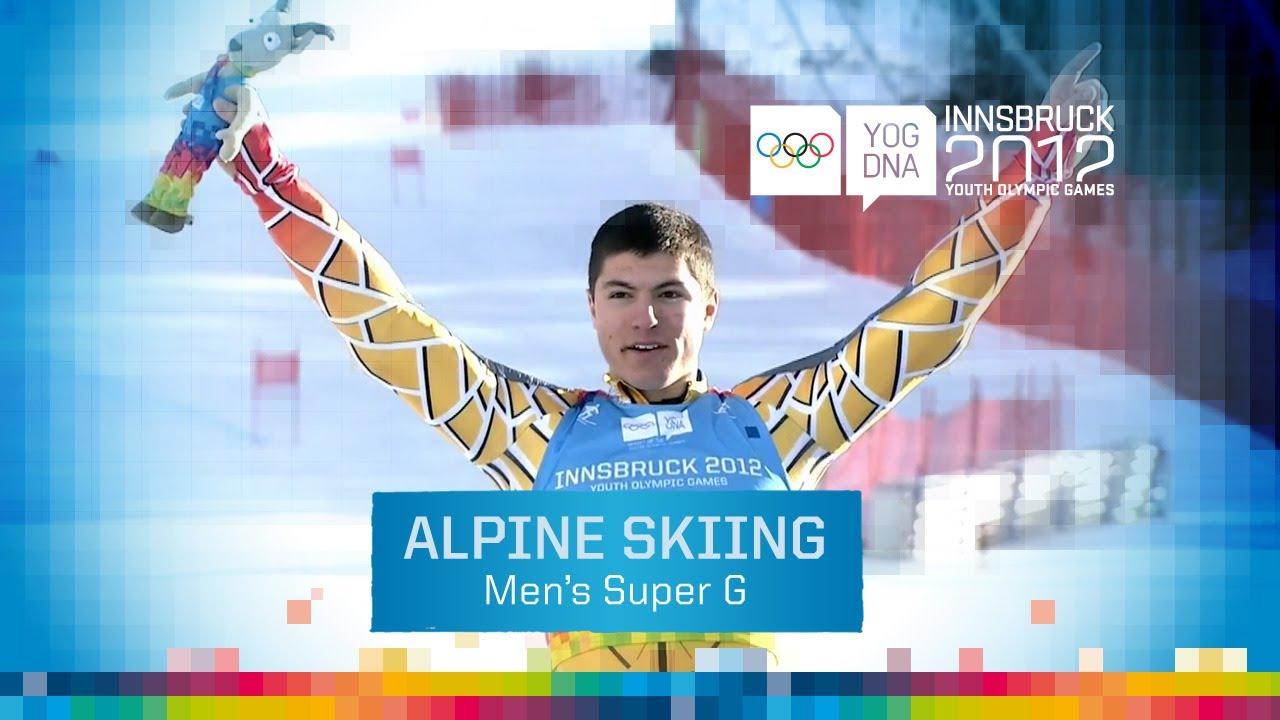 Victory For Adam Lamhamedi Innsbruck 2012 Men S Super G Youtube