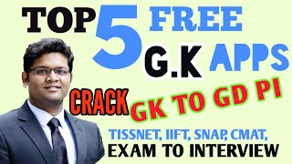 BE A GK Master! MBA CRACK IT! Exams to GDPI to SOLID KNOWLEDGE || Highly rated APPS FREE!