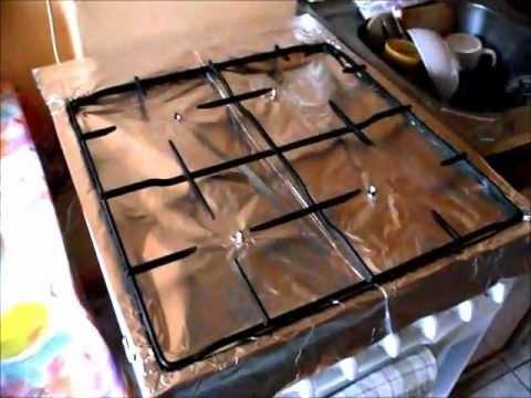 Wymiana Folii Aluminiowej Na Kuchni Gazowej