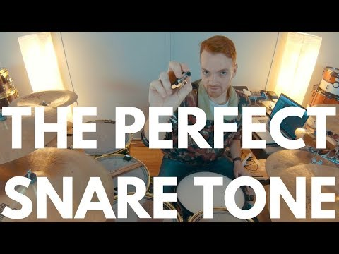 The Secret To Tuning Your Snare Perfectly Everytime