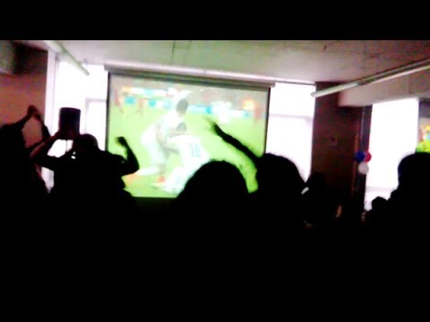 Chilean Fans go crazy after amazing 2:0 win over Spain! - Chile vs Spain - FIFA World Cup 2014