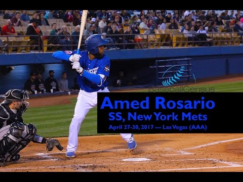 Amed Rosario, SS, New York Mets — April, 2017