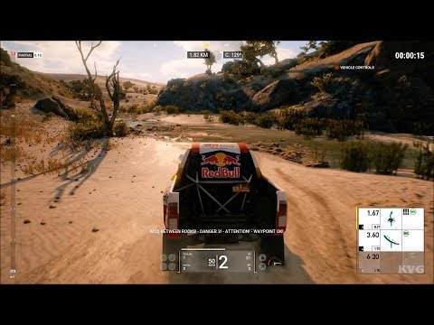 Dakar 18 Gameplay (PC HD) [1080p60FPS]