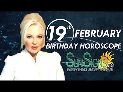 Birthday February 19th Horoscope Personality Zodiac Sign Pisces Astrology