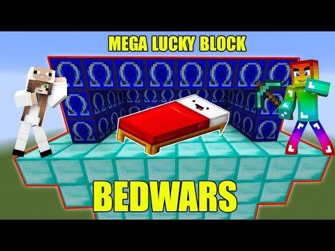 MINI GAME : MEGA LUCKY BLOCK BEDWARS ** CUỘC ĐẤU GIỮA T GAMING VÀ CỪU GAMER AI SẼ THẮNG ?