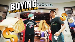 BUYING THE ENTIRE STORE FOR HIM | GOLDY BHAI VISITS #S8UL GAMING HOUSE| #Vlog5