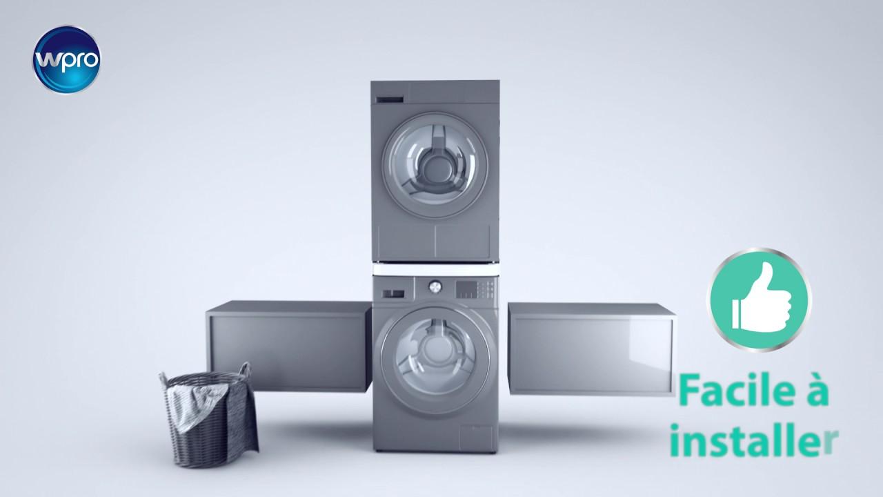 kit de superposition universel wpro but youtube. Black Bedroom Furniture Sets. Home Design Ideas