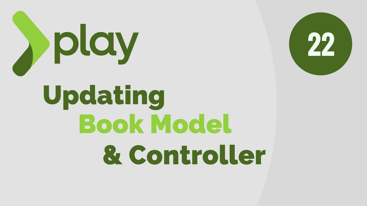 Play Framework Tutorial # 22 | Update Book Model And Perform CRUD Operations in H2 Database