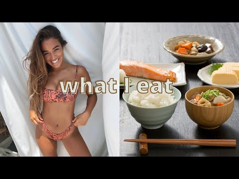 what I eat in a day | balanced & healthy *Japanese inspired*