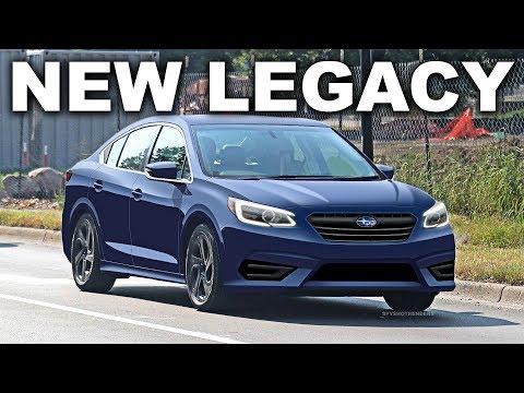 2020 Subaru Legacy - Spy Shot Render Preview - YouTube