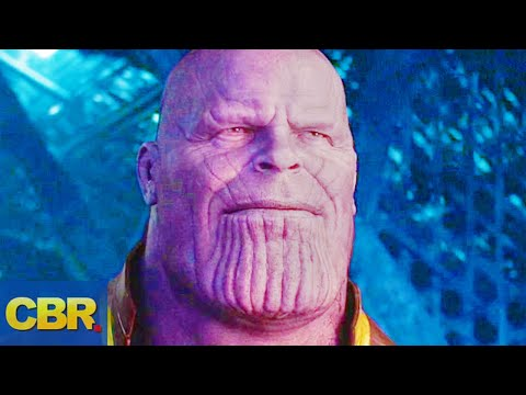 Thanos 10 Greatest Moments In The MCU