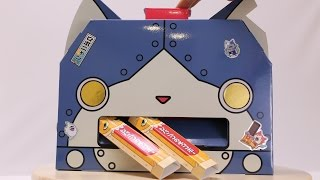 Diy Yo-Kai Watch Robonyan Vending Machine Paper Craft