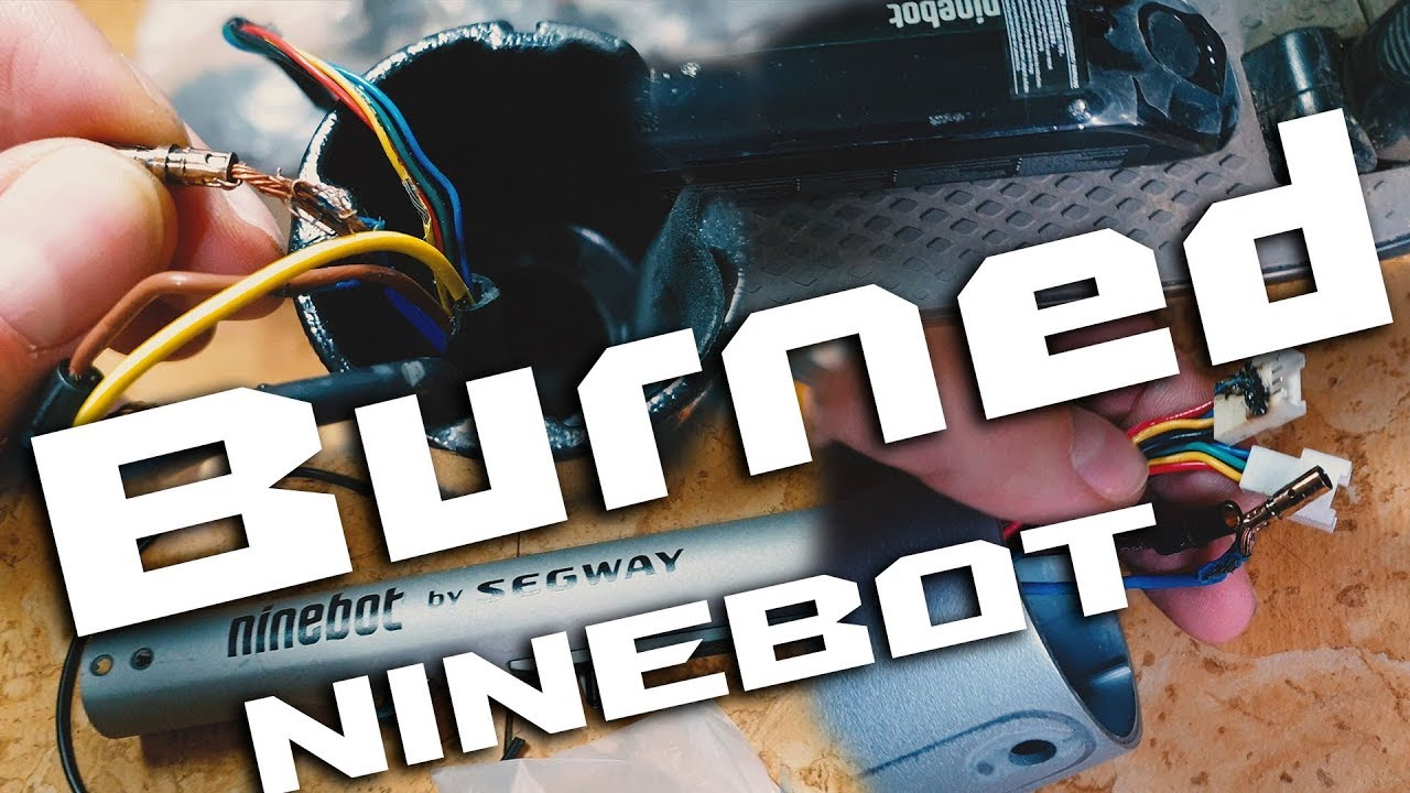 Ninebot ES2 BURNED ! True story why Segway is Low quality and M365 is better