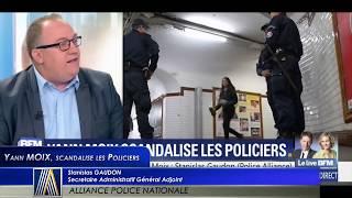 YANN MOIX scandalise les Policiers !