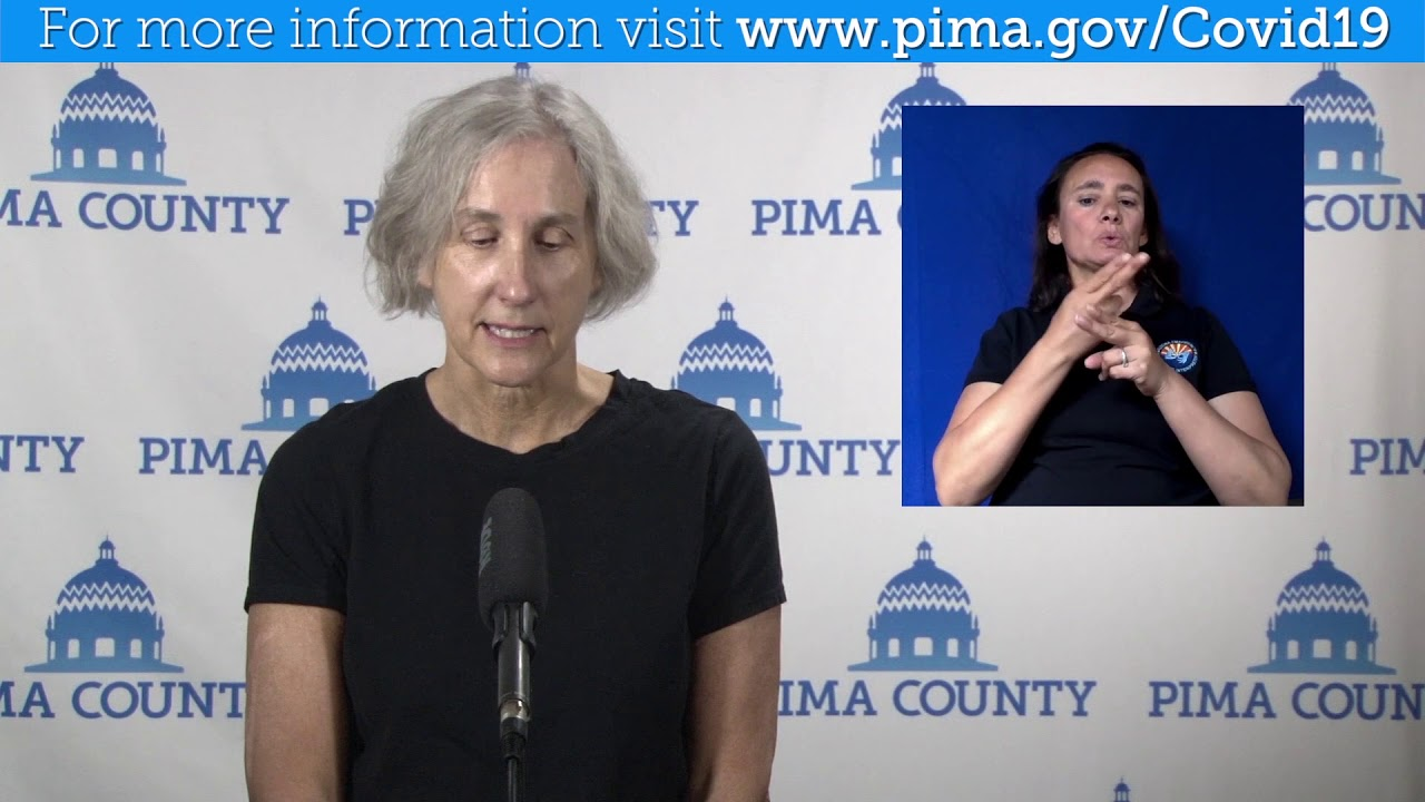 Pima County Public Health Update for June 29, 2020 - Precautions to take over the holiday weekend.
