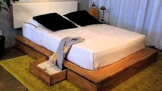 Mash Studios Storage Platform Bed At Design Public Video