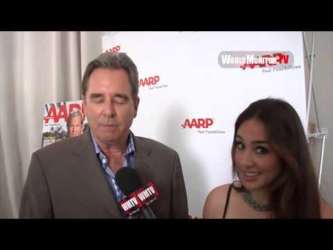 Beau Bridges interviewed at AARP The Magazine' Luncheon in Honor of Jeff Bridges Cover