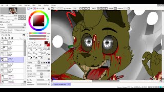 SpeedPaint Trapped remake Five Nights at Freddy s 3