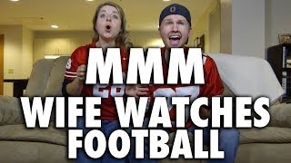 WIFE WATCHES FOOTBALL! (Modern Marriage Moments)