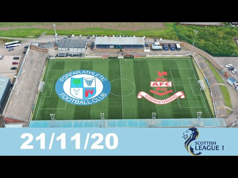 Forfar Airdrieonians Goals And Highlights