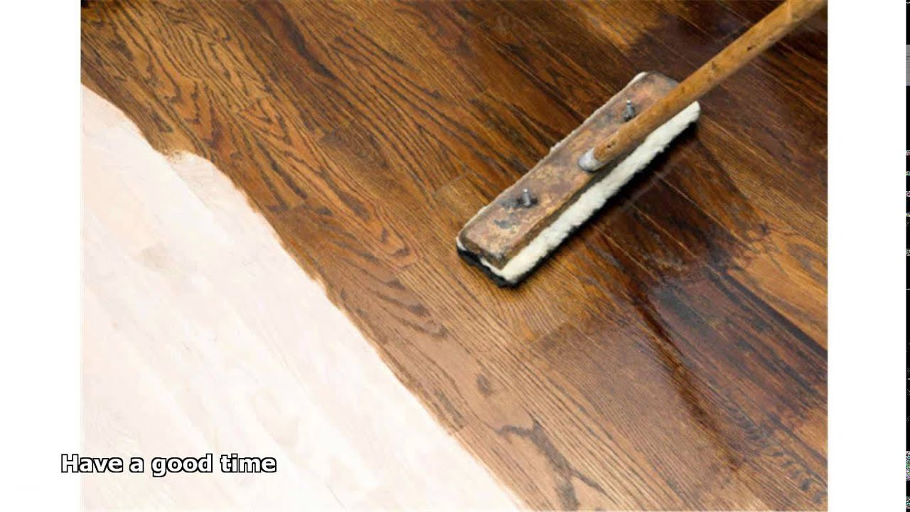 Finishing Hardwood Floors